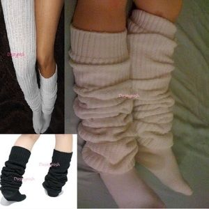 "93c39f43f78 Dustyposh Accessories - 69"" Long Loose Thigh High Boot Socks Over The Knee"